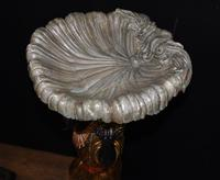 Pair of Venetian Blackamoor Figurines - Antique Clam Shell Planter Stands (11 of 11)