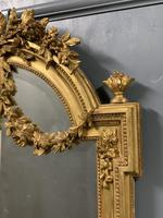 Exceptional Quality French Gilt Bevelled Garland Mirror (6 of 8)