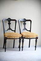 6 Victorian Aesthetic Movement Dining Chairs (13 of 13)