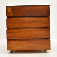 Danish Rosewood Filing Chest of Drawers Vintage 1960's (3 of 9)