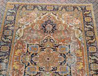 Antique Heriz roomsize carpet 338x241cm (5 of 6)