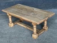 French Bleached Oak Coffee Table (10 of 11)