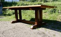 Reclaimed Elm Rustic English Barn Table (2 of 10)