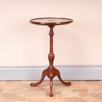 Mahogany Carved Top Wine Table (3 of 6)