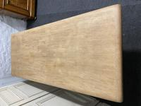 Bleached Oak Refectory Farmhouse Dining Table (12 of 13)