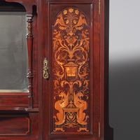 Victorian Inlaid Mahogany Side Cabinet by Gillows (12 of 13)