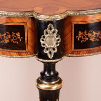 Fine Quality French Marquetry & Ormolu Mounted Occasional Table (14 of 24)