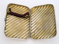 Victorian Silver Cigar Case with Spiral Form Body (6 of 7)