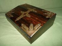 QUALITY Betjemann Coromandel Writing Box. 100% Original c1870 (15 of 15)