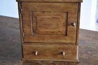 Small Rustic Antique Oak Wall Cupboard (10 of 10)