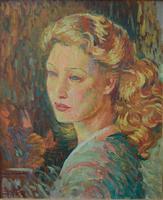 Paul Bret Agnès 1945 French Post Impressionist (2 of 8)