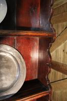 18th Century Antique English Georgian Oak Pad Foot Dresser & Rack (6 of 9)