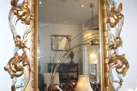 Large Antique Italian Giltwood Mirror (3 of 5)