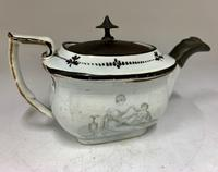 Regency Pearlware Pottery Toy Tea Pot circa 1815 (11 of 11)