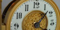 Four Glass Mantel Clock (3 of 6)