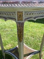 Original Paint & Gilt French Occasional Table (5 of 6)