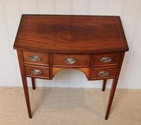 Mid Century Mahogany Bow Front Side Table (7 of 10)