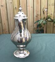 Georgian Silver Plated Coffee Pot (5 of 6)