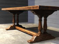 Wonderful French Chestnut Farmhouse Refectory Dining Table (35 of 37)