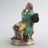 Enoch Wood - Rare Staffordshire Figure of a Flutist c.1810 (7 of 9)
