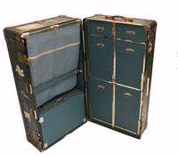 Vintage Steamer Trunk Luggage Case Harrison and  Co New York (27 of 28)