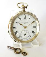 Antique Silver Pocket Watch for Gittus of London (2 of 6)