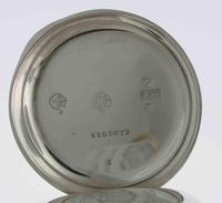 Omega Silver 0.800 Open Face Pocket Watch Swiss 1920 (5 of 7)