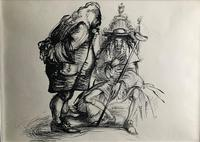 Original Pen and ink drawing by John Berry  c.1960 (2 of 2)