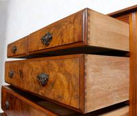 Chest of Drawers Burl Walnut Victorian (9 of 11)