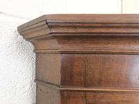 19th Century Antique Oak Corner Cupboard (6 of 7)
