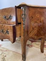 French Chest of Drawers Bombe Commode with Marble Top (12 of 12)