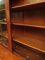 Antique George II Mahogany Secretaire Bookcase of Immense Character (12 of 16)