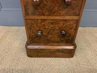Victorian Pair of Burr Walnut Bedside Chests (14 of 14)