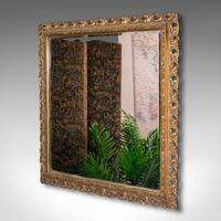 Antique Bevelled Mirror, English, Gilt Gesso, Overmantel, Hall, Victorian, 1900 (3 of 10)
