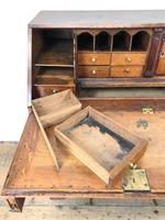 Large Georgian Oak Writing Bureau (6 of 13)