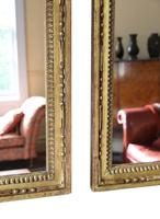 Pair of Gilt 19th Century Overmantle or Wall Mirrors (11 of 13)