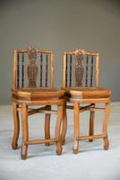 Pair of Asian Side Chairs (3 of 12)