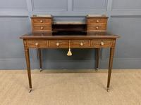 Edwards & Roberts Inlaid Mahogany Writing Desk (3 of 20)