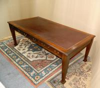 Large Mahogany Library Table /  Boardroom Table (8 of 8)