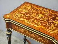 Louis XV Style French Marquetry Games / Side Table (4 of 15)
