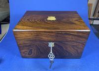 Victorian Rosewood Jewellery Box (12 of 17)