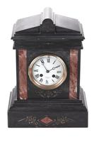 Antique Victorian 8 Day Marble Clock