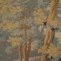 Antique Verdure Tapestry, French, Decorative Panel, Wall Covering, Victorian (2 of 12)