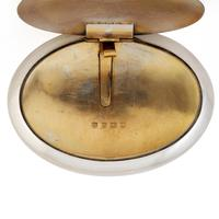Pebble Shaped Edwardian Plain Silver Tobacco Box (6 of 6)