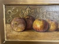 L.H Cooper Signed Fruit Oil Painting (5 of 6)