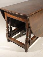 Good & Unusual Early 18th Century 8 Seater Gateleg Table (7 of 7)