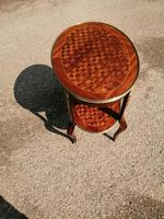French Parquetry Occasional / Lamp Table (8 of 9)