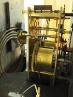 18th Century English Longcase Clock in Oak Case Silver Brass Dial Signed John Taylor (2 of 6)