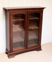 Edwardian Mahogany Glazed Bookcase c.1910 (6 of 11)