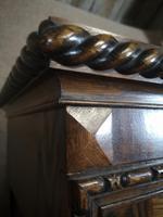 Good Quality Carved Oak Wardrobe. A Gardner & Sons, Glasgow (3 of 13)